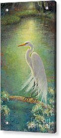 Southern Serenity  Acrylic Print by Lori  McNee
