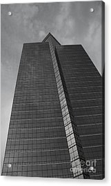 Southfield Hi Rise Black And White Acrylic Print by Bill Woodstock