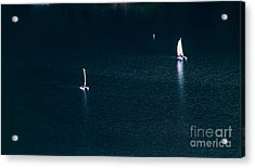 Space And Time Acrylic Print by Mitch Shindelbower