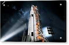 Space Launch System Acrylic Print by Nasa