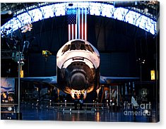 Space Shuttle Discovery Acrylic Print by Patti Whitten