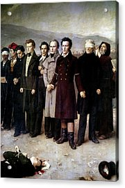 Spain Execution, 1831 Acrylic Print by Granger