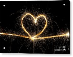 Spark Of Love Acrylic Print by Tim Gainey