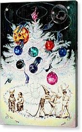 Sparkles And Spangles Acrylic Print by Nekoda  Singer