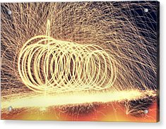 Sparks Acrylic Print by Dan Sproul