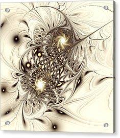 Sparrow Acrylic Print by Anastasiya Malakhova