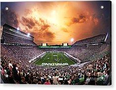 Spartan Stadium Acrylic Print by Rey Del Rio