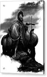 Spartans Acrylic Print by Matt Kedzierski