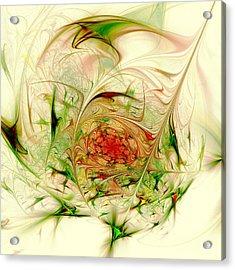 Special Place Acrylic Print by Anastasiya Malakhova