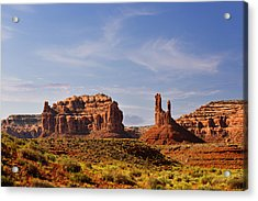 Spectacular Valley Of The Gods Acrylic Print by Christine Till