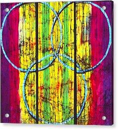 Spectrum Acrylic Print by Kay Shaffer