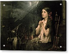 Spellbound Acrylic Print by Frederick George Cotman