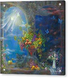 Spells Acrylic Print by Vladimir Nazarov