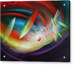 Sphere B12 Acrylic Print by Drazen Pavlovic