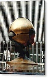 Sphere Acrylic Print by Bruce Lennon