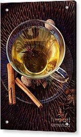 Spiced Tea Acrylic Print by Mythja  Photography
