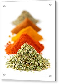 Spices Acrylic Print by Elena Elisseeva