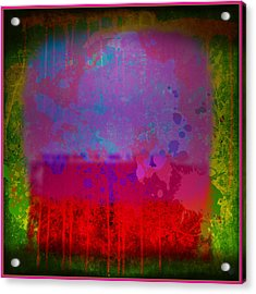 Spills And Drips Acrylic Print by Gary Grayson