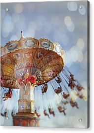 Spin Acrylic Print by Melanie Alexandra Price