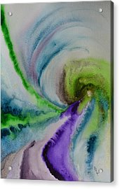 Spiral Dance Acrylic Print by Beverley Harper Tinsley