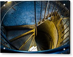 Spiral Into The Light Acrylic Print by Jeff Ortakales