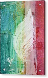 Spirit Of Christmas Acrylic Print by Asha Carolyn Young