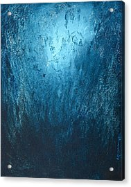 Spirit Of Life - Abstract 3 Acrylic Print by Kume Bryant