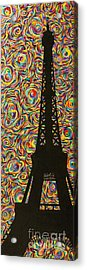 Spirit Of Paris Acrylic Print by Sean Ward