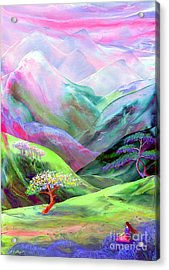 Spirit Of Spring Acrylic Print by Jane Small