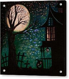 Spirit Of Wonder Acrylic Print by Denisse Del Mar Guevara