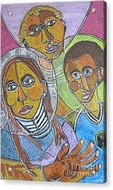 Spiritual Bonding Acrylic Print by Robert Daniels