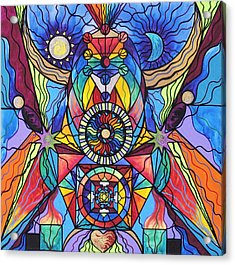 Spiritual Guide Acrylic Print by Teal Eye  Print Store