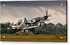 Spitfire Parade Acrylic Print by Alexis Birkill