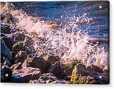 Splashes Acrylic Print by Dawn OConnor