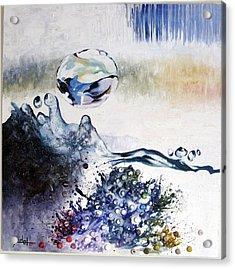 Splashing Through Waves Acrylic Print by Adel Ahn
