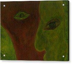Split Decisions Acrylic Print by Abram Freitas