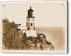 Split Rock Lighthouse Acrylic Print by Kristin Elmquist