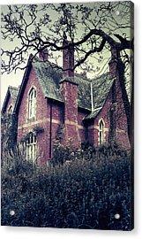 Spooky House Acrylic Print by Joana Kruse