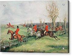 Sporting Scene, 19th Century Acrylic Print by Henry Thomas Alken