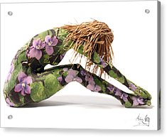 Spring Awakens Sculpture Acrylic Print by Adam Long