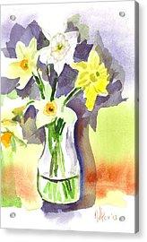 Spring Bouquet Acrylic Print by Kip DeVore