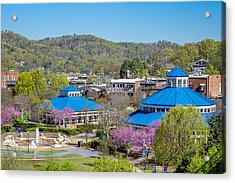 Spring Coolidge Park Acrylic Print by Tom and Pat Cory