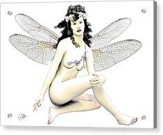 Spring Fairy  Acrylic Print by Quim Abella