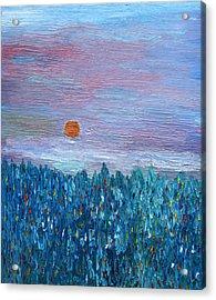 Spring Glimpse Acrylic Print by Vadim Levin