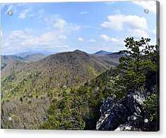 Spring In The Mountains Acrylic Print by Susan Leggett
