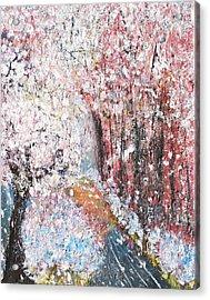 Spring Landscape Acrylic Print by Evelina Popilian