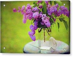 Spring Memories Acrylic Print by Darren Fisher