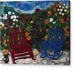 Spring Memories Acrylic Print by Louise Burkhardt