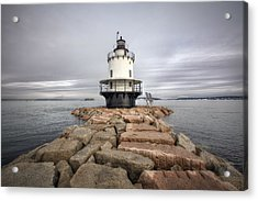 Spring Point Ledge Acrylic Print by Eric Gendron