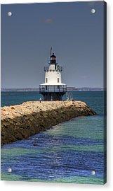 Spring Point Ledge Light Acrylic Print by Joann Vitali